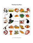 Thanksgiving Bingo 3 Thanksgiving Printa