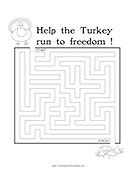 Maze Turkey Freedom